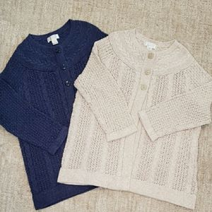 Bundle of 2 Cardigan Sweaters Christopher Banks